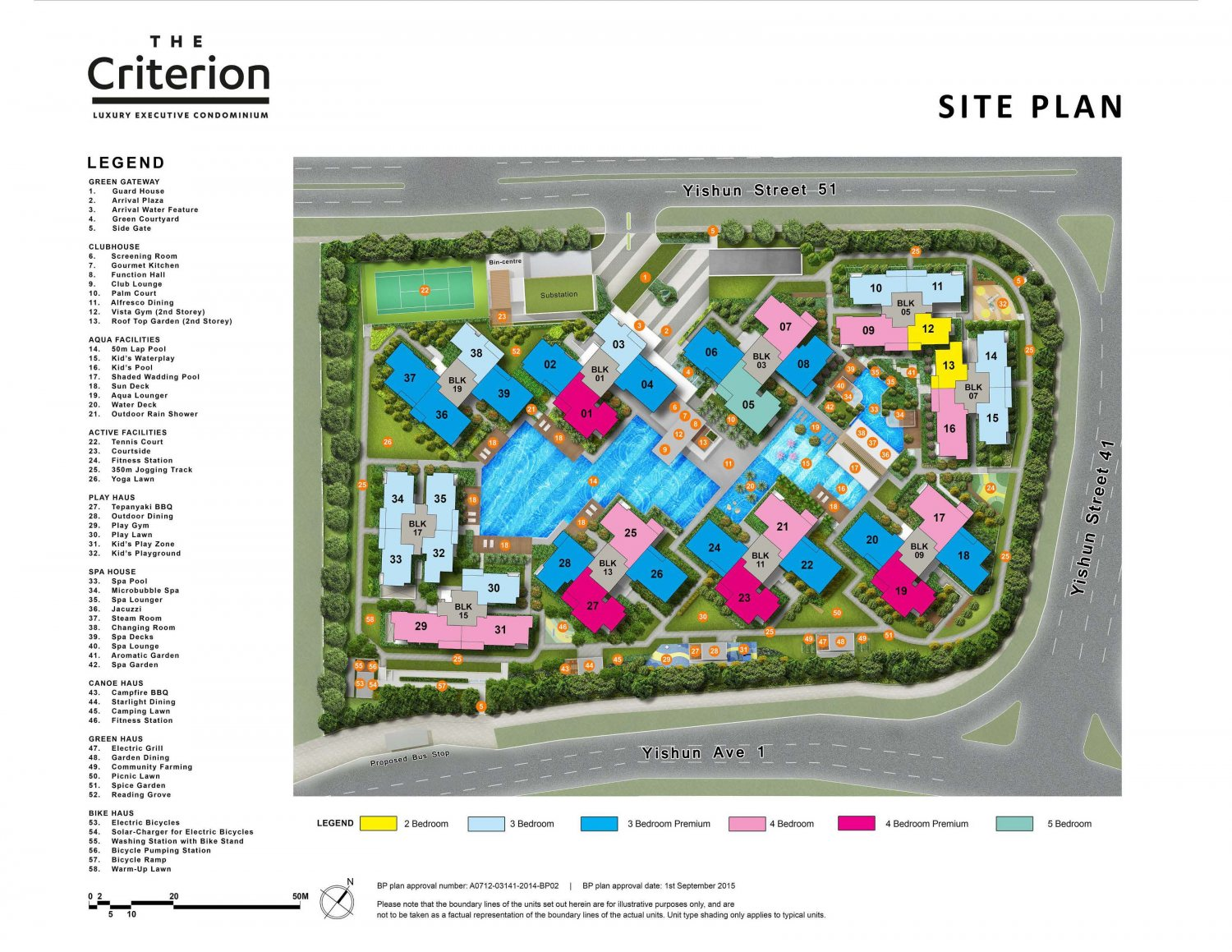The Criterion Site Plan