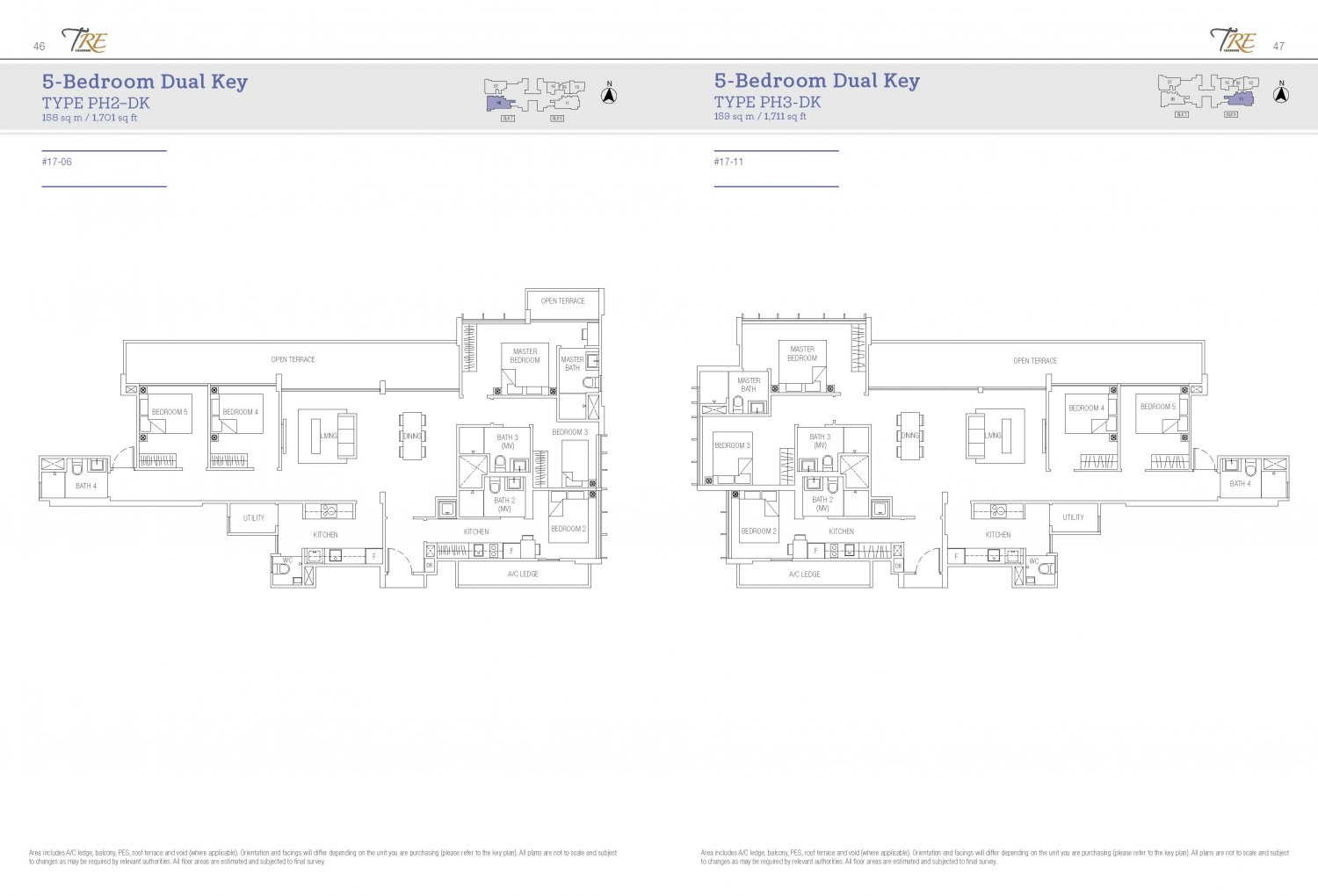 TRE Residences Floorplan