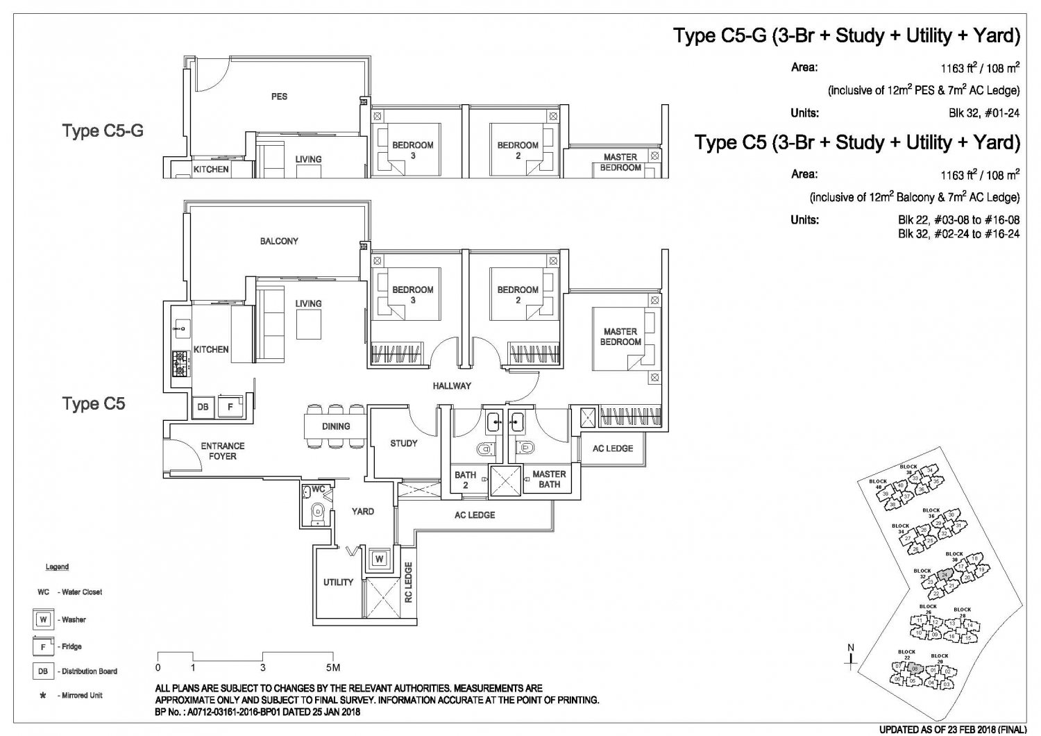 Rivercove Residences Floorplan