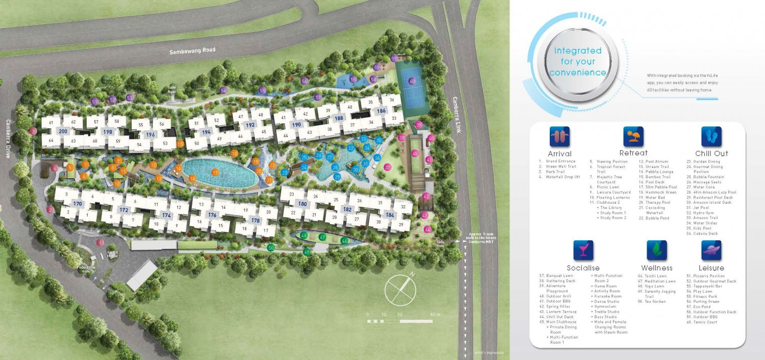 The Visionaire Site Plan