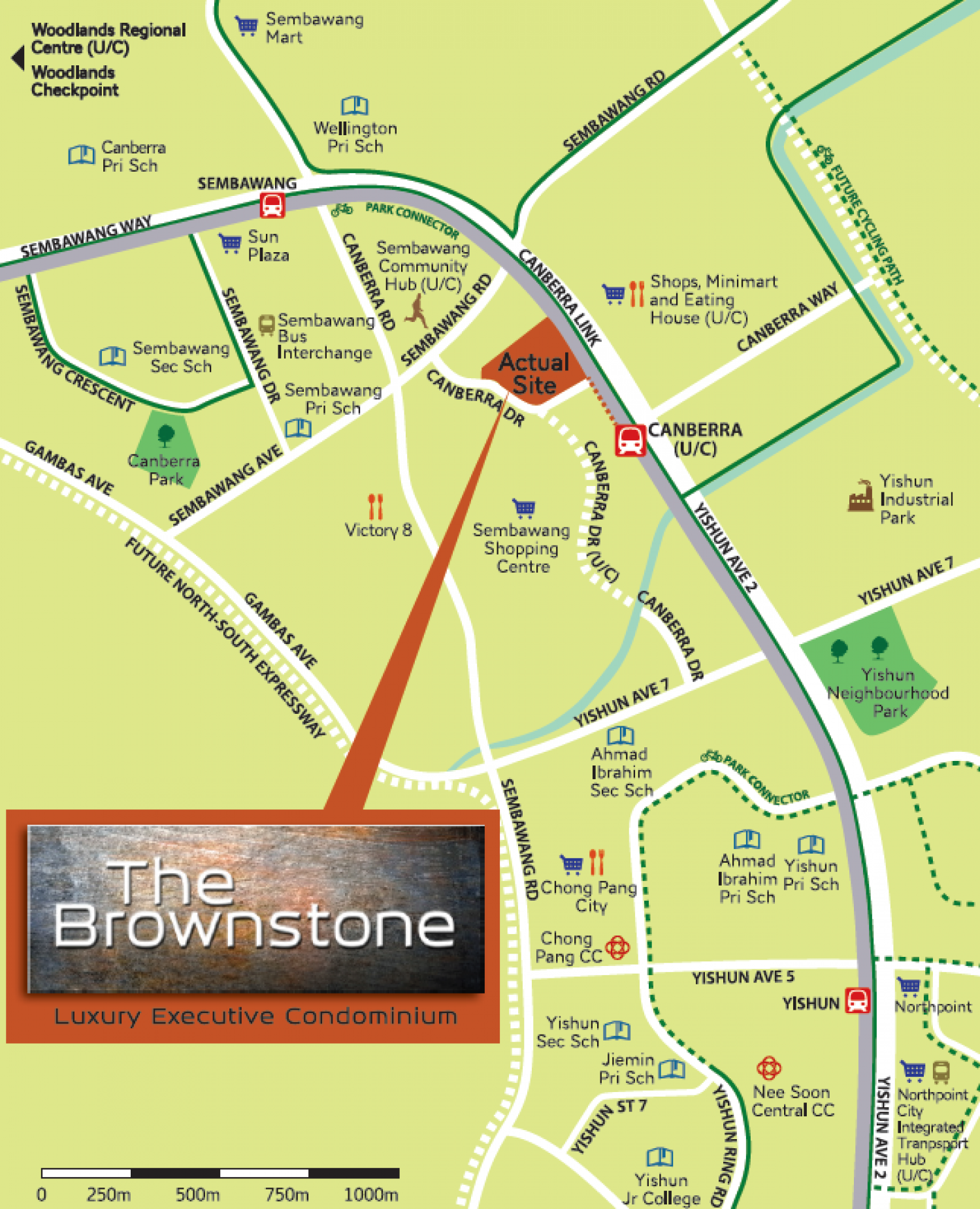 The Brownstone Map
