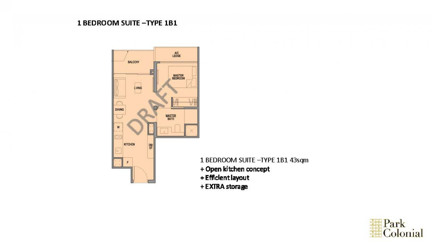 Park Colonial Floorplan