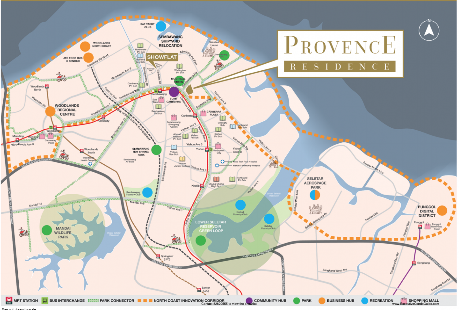 Provence Residence Map