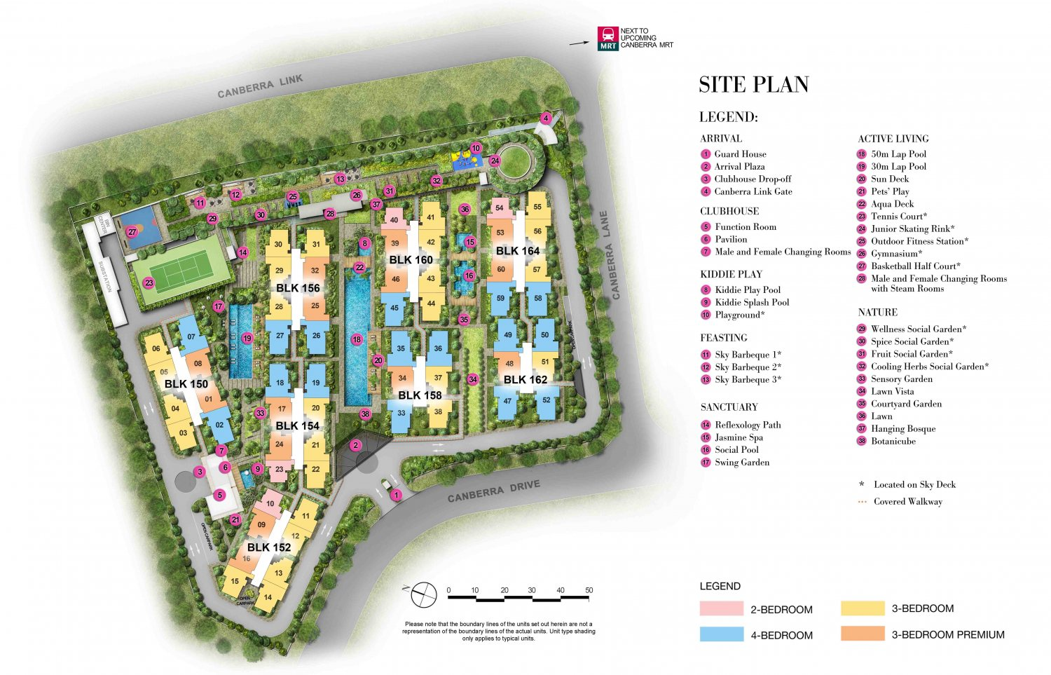 The Brownstone Site Plan