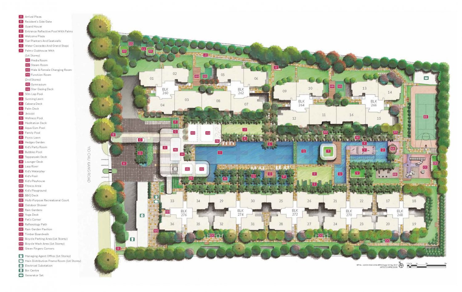 Hundred Palms Site Plan
