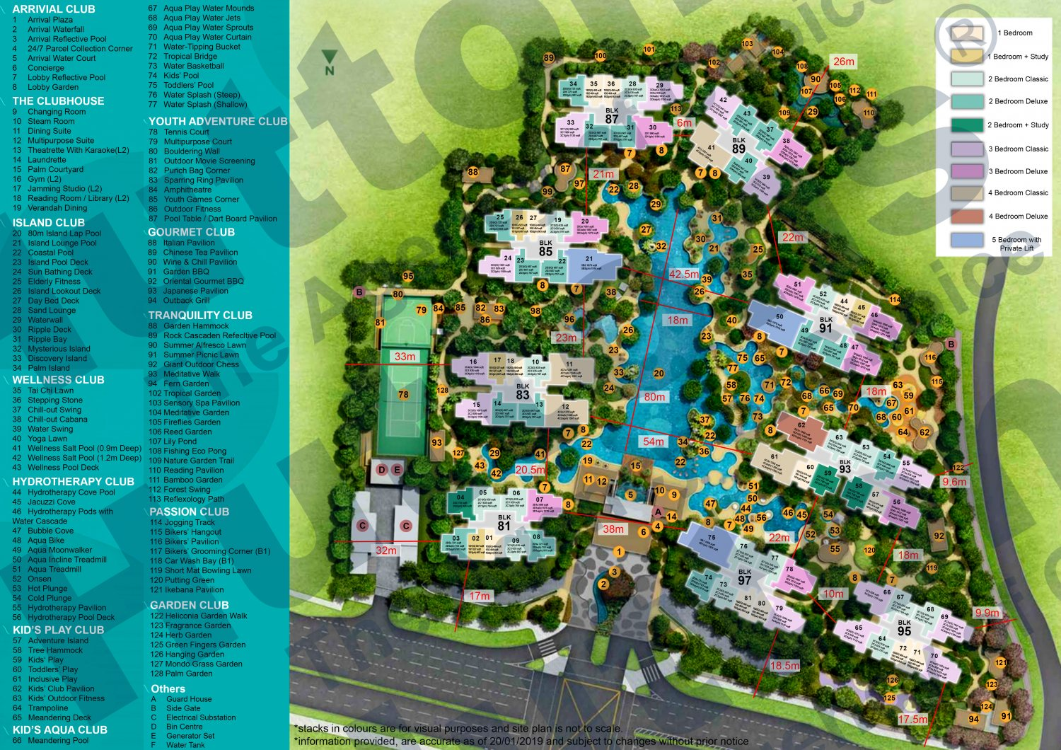 The Florence Residences Site Plan